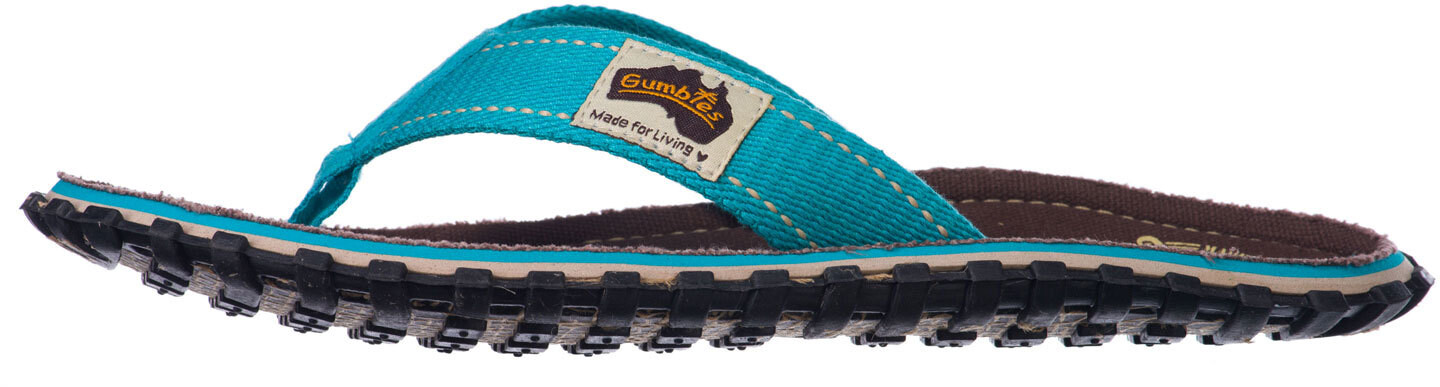 bd89e396ad8a GUMBIES Islander Sandals Children brown turquoise at Addnature.co.uk